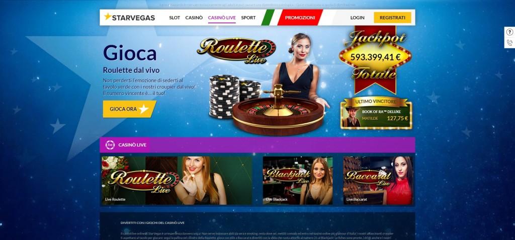 Come funziona il Live casino BlackJack?