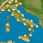 Quali sono le previsioni meteo dal 4 all'8 aprile?