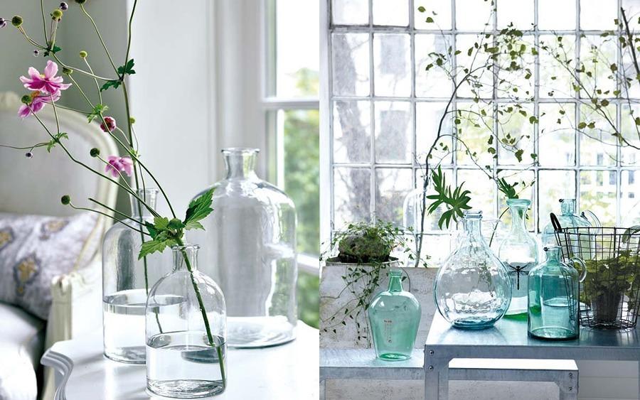 vasi di vetro da decorare